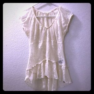 Guess White Lace Coverup